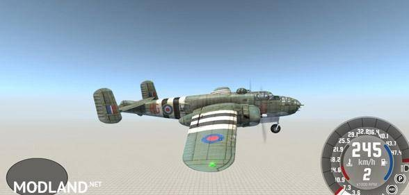 B-25 Mitchell Military Aircraft [0.5.6]